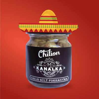 sült fokhagyma chilivel