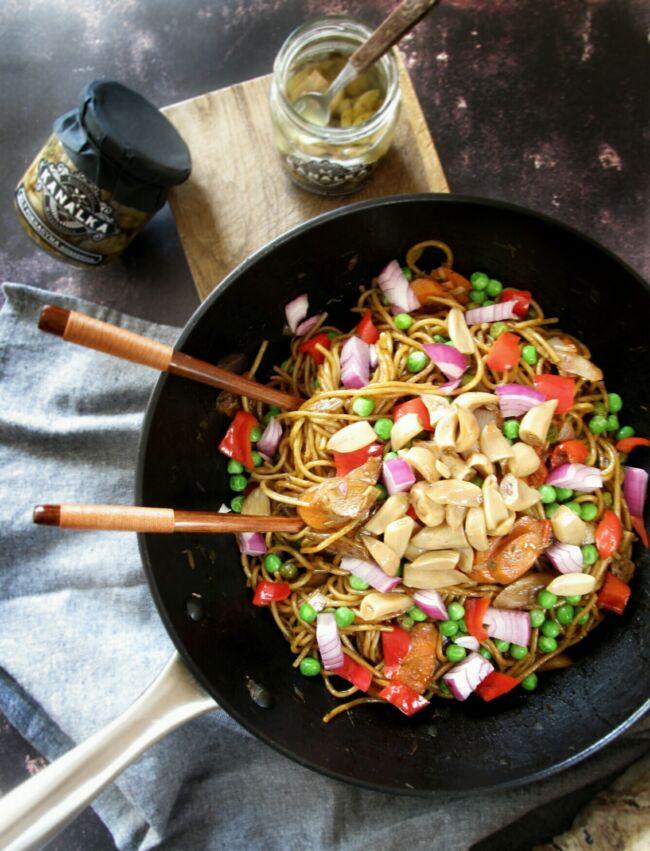 Sült tészta fokhagymával recept